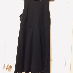 Loft Black Sleeveless Dress